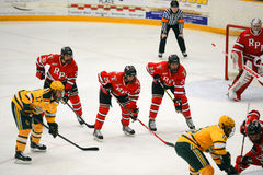 NCAA Hockey Game Stock Images