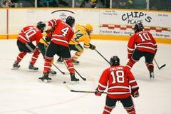 NCAA Hockey Game Royalty Free Stock Photo