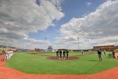2015 NCAA Honkbal - wvu-TCU Stock Fotografie