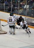 NCAA Ice Hockey Game Royalty Free Stock Photo