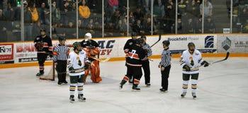 NCAA Ice Hockey Game Stock Photos