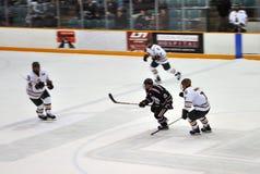 NCAA Ice Hockey Game Stock Photo