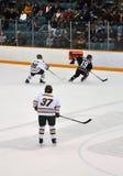 NCAA Ice Hockey Game Royalty Free Stock Photos