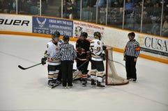 NCAA Ice Hockey Game in Clarkson University Royalty Free Stock Photos