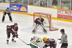 NCAA Ice Hockey Game in Clarkson University Royalty Free Stock Image