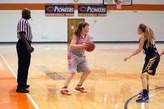 NCAA kobiet koszykówka Obrazy Royalty Free