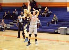 NCAA kobiet koszykówka Fotografia Stock