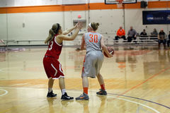 NCAA kobiet koszykówka Fotografia Royalty Free