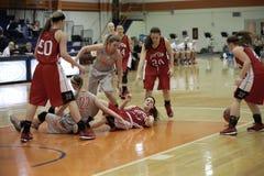 NCAA kobiet koszykówka Zdjęcia Stock