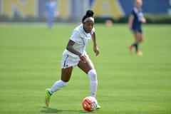2015 NCAA kobiet piłka nożna - Villanova @ WVU Fotografia Stock