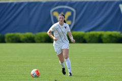 2015 NCAA kobiet piłka nożna - Villanova @ WVU Obraz Stock