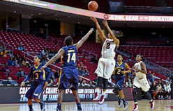 2014 NCAA koszykówka - kobiety koszykówka Fotografia Royalty Free