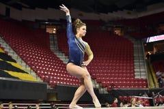 2015 NCAA Ladies Gymnastics - WVU Royalty Free Stock Photography