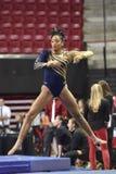 2015 NCAA Ladies Gymnastics - WVU Royalty Free Stock Photos