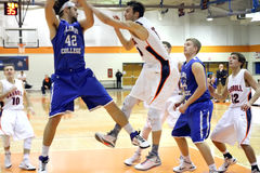 Ncaa-mäns basket Arkivfoto