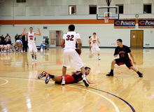 Ncaa-mäns basket Royaltyfria Bilder