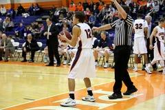 NCAA Men�s Basketball Royalty Free Stock Photos