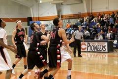 NCAA Men's Basketball. Carroll University, Waukesha, WI, USA, Nov 15, 2014, NCAA, Men's Midwest Non Conference Basketball, versus Martin Luther stock photography