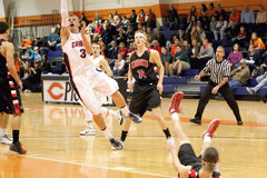 NCAA Men�s Basketball Royalty Free Stock Image
