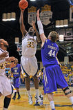 NCAA Men's basketball 2012 Royalty Free Stock Images