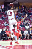 2015 NCAA Men's Basketball - Temple-Houston Stock Photo