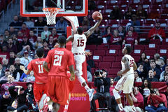 2015 NCAA Men's Basketball - Temple-Houston stock image