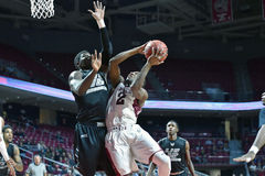 2014 NCAA Men's Basketball - TEMPLE vs LIU Royalty Free Stock Photos