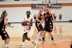 NCAA Men's Basketball Royalty Free Stock Photography
