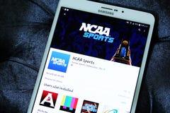 Ncaa mobile app stock photos