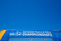 NCAA Outdoor Track and Field Championships Royalty Free Stock Photography