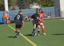 ncaa s piłki nożnej kobiety Zdjęcie Stock