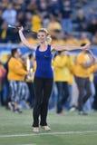 2015 NCAA Voetbal - de Staat van Oklahoma in West-Virginia Royalty-vrije Stock Fotografie