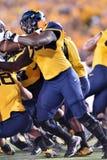 2015 NCAA Voetbal - de Staat van Oklahoma in West-Virginia Stock Afbeeldingen