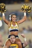 2015 NCAA Voetbal - GA Zuidelijke @ WVU Stock Afbeelding