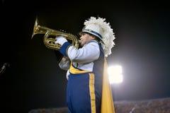 2015 NCAA Voetbal - GA Zuidelijke @ WVU Royalty-vrije Stock Foto's