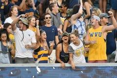 2015 NCAA Voetbal - GA Zuidelijke @ WVU Royalty-vrije Stock Afbeeldingen