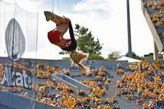 2015 NCAA Voetbal - Maryland @ WVU Stock Afbeelding