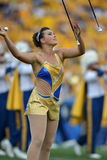 2015 NCAA Voetbal - Maryland @ WVU Stock Foto's