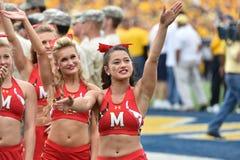 2015 NCAA Voetbal - Maryland @ WVU Royalty-vrije Stock Foto