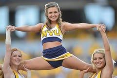 2015 NCAA Voetbal - Maryland @ WVU Royalty-vrije Stock Fotografie