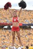 2015 NCAA Voetbal - Maryland @ WVU Stock Fotografie