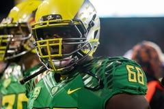 NCAA Voetbal - Oregon bij de Staat van Oregon Royalty-vrije Stock Foto's