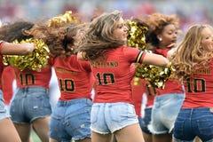 2015 NCAA Voetbal - Penn State versus maryland Royalty-vrije Stock Afbeelding