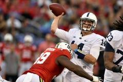2015 NCAA Voetbal - Penn State versus maryland Stock Foto