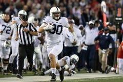 2015 NCAA Voetbal - Penn State versus maryland Stock Afbeelding