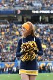 2014 NCAA Voetbal - tcu-WVU Royalty-vrije Stock Fotografie