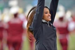 2014 NCAA Voetbal - tempel-Cincinnati Royalty-vrije Stock Foto