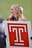 2014 NCAA Voetbal - tempel-Cincinnati Stock Foto