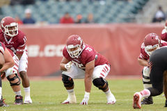 2014 NCAA Voetbal - tempel-Cincinnati Royalty-vrije Stock Foto's