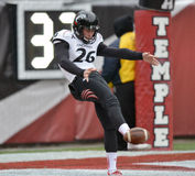 2014 NCAA Voetbal - tempel-Cincinnati Stock Fotografie